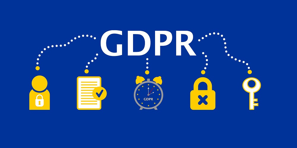 General Data Protection Regulation (GDPR) Concept Illustration - 25 May 2018